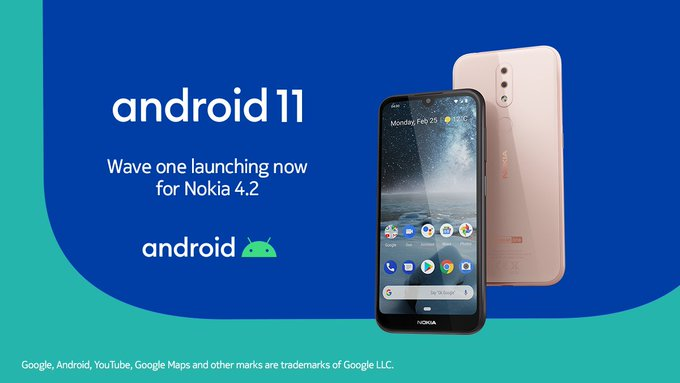 Nokia 4.2 gets Android 11 update